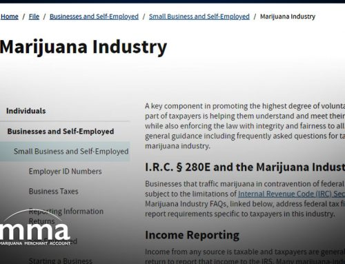 A Sign of Progress: IRS Adds New Marijuana Industry Web Page